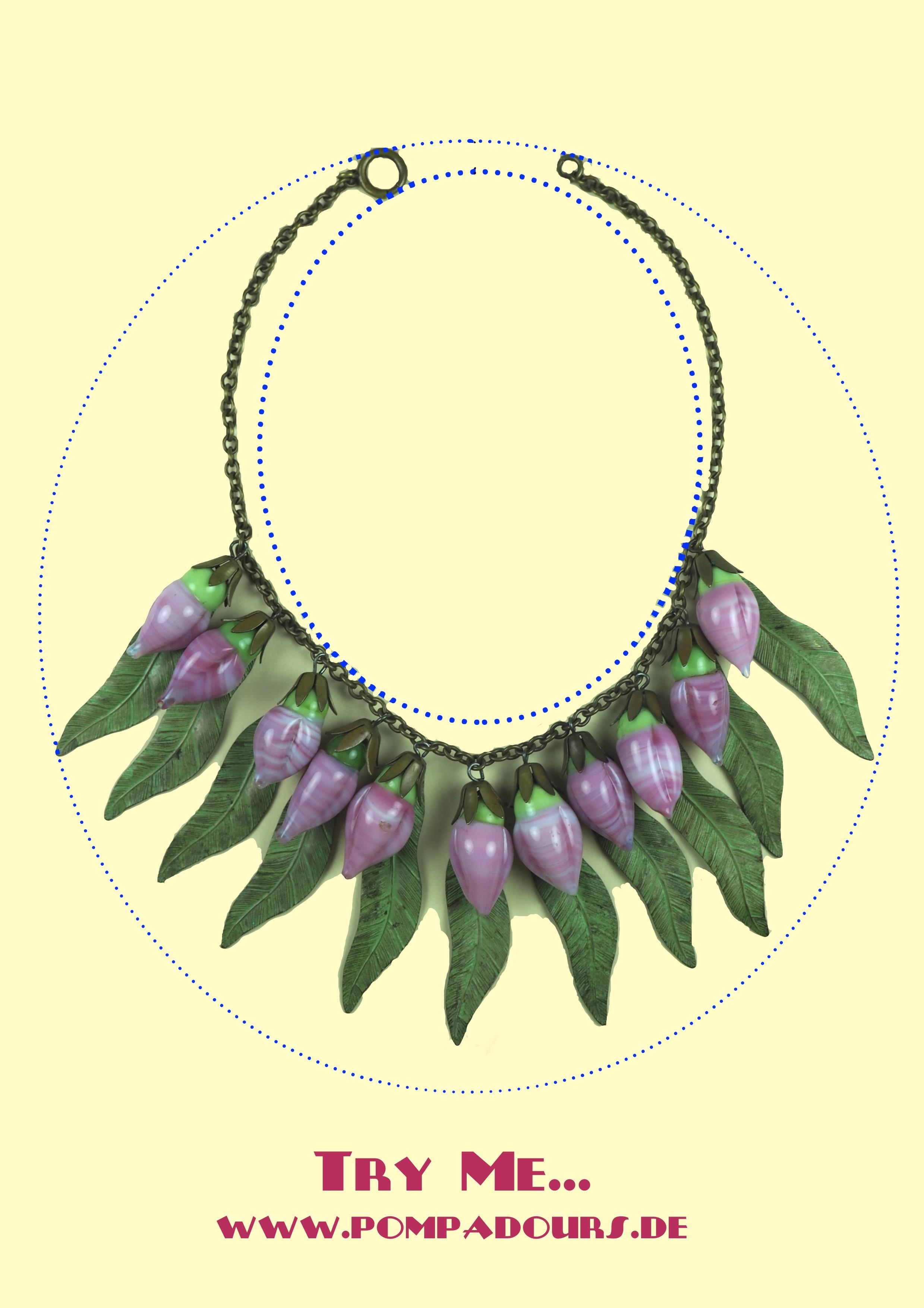 Miriam Haskell Stil - Vintage Costume Jewelry - Vintage Modeschmuck - Schmuckstück - www.pompadours.de