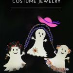 Vintage Costume Jewelry - Vintage Modeschmuck - Alter Modeschmuck - amerikanischer Modeschmuck - Halloween - Pompadour´s